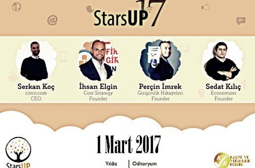 YTÜ Kalite ve Verimlilik Kulübü ile Stars-Up'17 Heyecanı Başlıyor