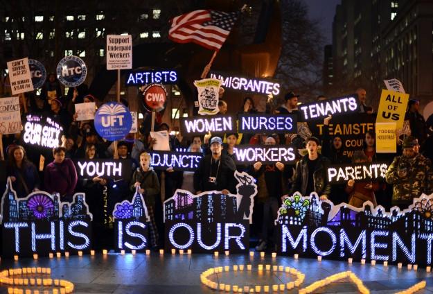 ABD'de fast food işçilerinden protesto