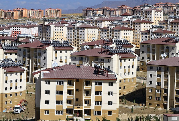 """TOKİ """"23 şehir"""" kurdu"""